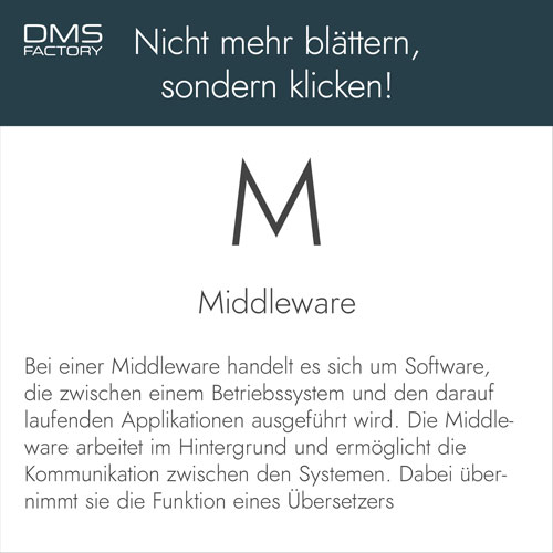 Glossar: Middleware