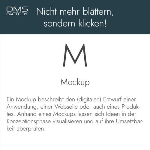 Glossar: Mockup
