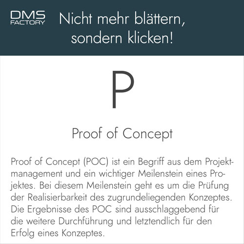 Glossar: POC