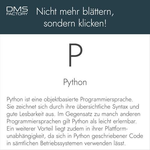 Glossar: Python