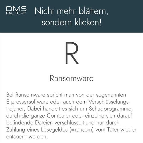 Glossar: Ransomware