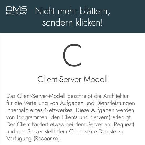 Glossar: Client-Server-Modell
