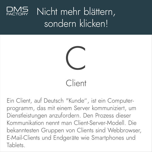 Glossar: Client