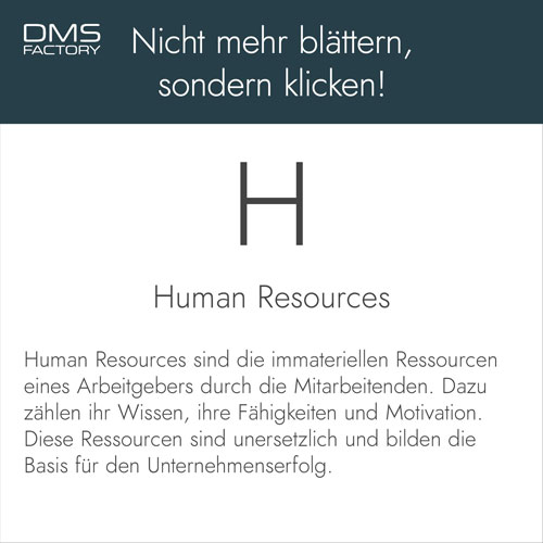 Glossar: Human Resources