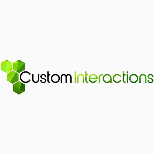 Custom Interactions - Logo