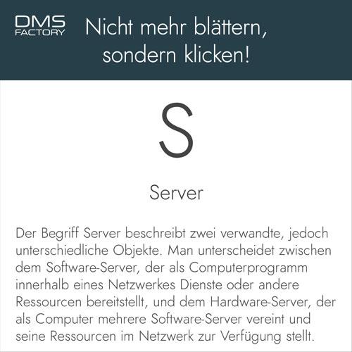 Glossar: Server