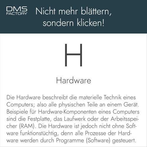 Glossar: Hardware