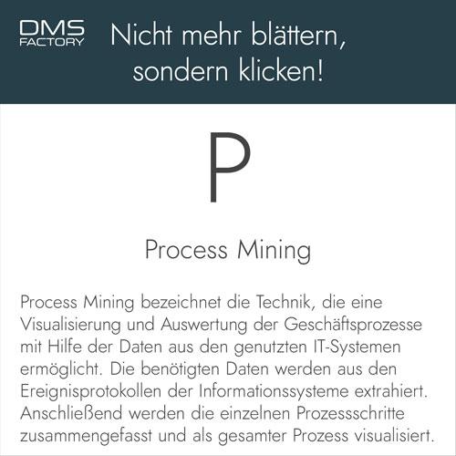 Glossar: Process Mining