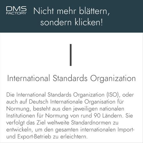 Glossar: ISO