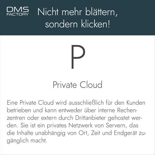 Glossar: Private Cloud
