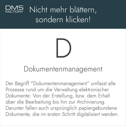Glossar: Dokumentenmanagement