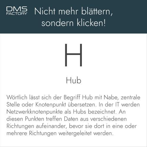 Glossar: Hub
